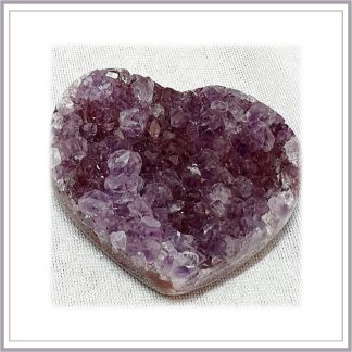 Amethyst Heart cluster 97gr