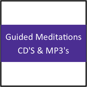 Guided Meditations CD'S & MP3's