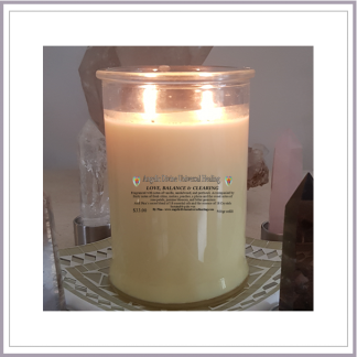 Love Balance and Clearing Candle