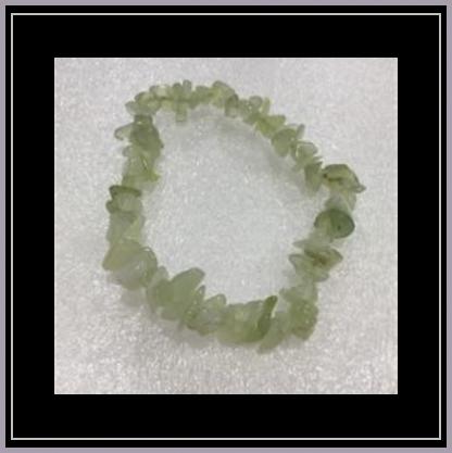 New Jade Chip Bracelet