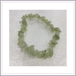 New Jade Chip Bracelet